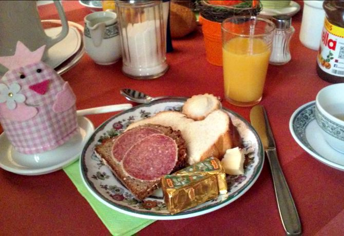 Breakfast on the Second Day