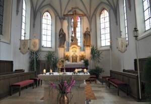 Pforzen Church Alter