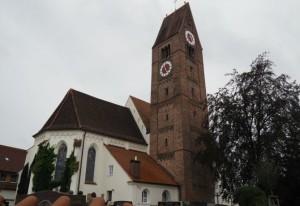 Pforzen Church Outside