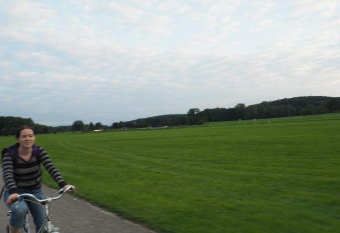 Biking to Ingeried